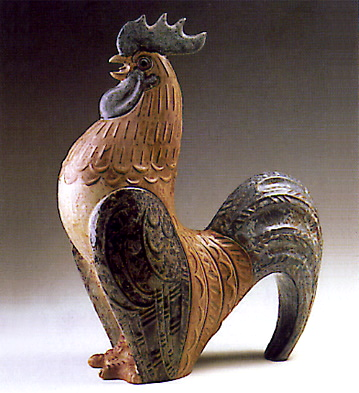 Decorative Rooster Lladro Figurine