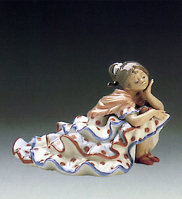 Deep In Thought Lladro Figurine