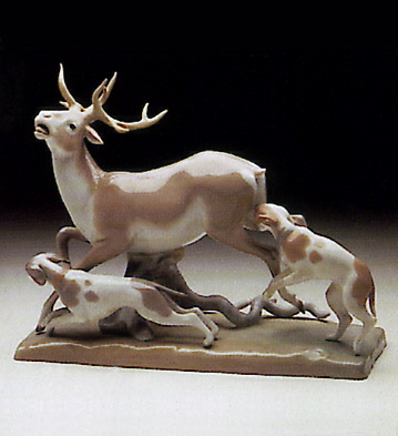 Deer Hunt Lladro Figurine