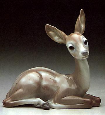 Deer Lladro Figurine
