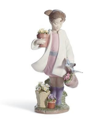 Delicate Nature Lladro Figurine