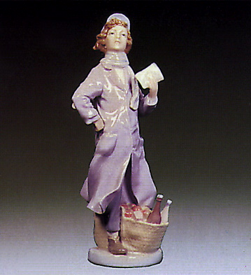 Delivery Boy Lladro Figurine