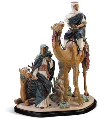 Desert People (l.e.) (b) Lladro Figurine