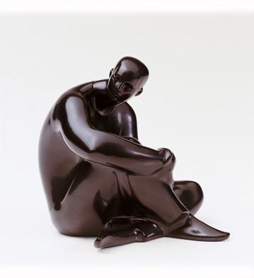 Destiny (ebony Look) Lladro Figurine