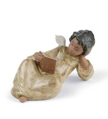 Devoted Reader Lladro Figurine