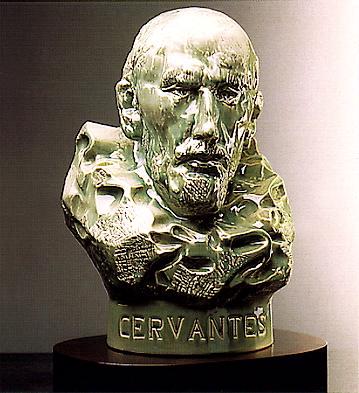 D.miguel De Cervantes Lladro Figurine