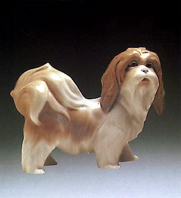 Dog Lladro Figurine