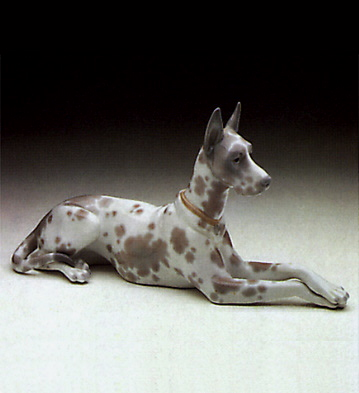 Dog Lladro Figurine