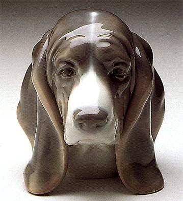 Dog's Head Lladro Figurine