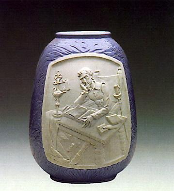 Don Quijote Vase Lladro Figurine
