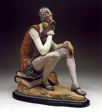 Don Quixote Dreaming -b- Lladro Figurine