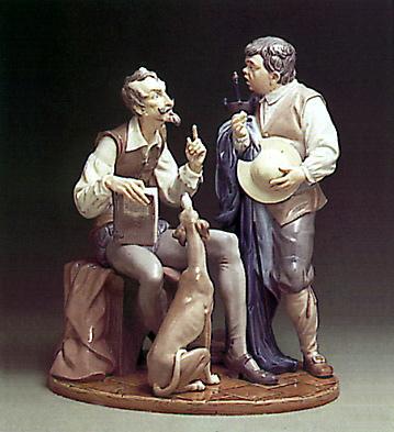 Don Quixote-sancho Panza Lladro Figurine