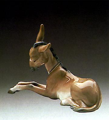 Donkey Lladro Figurine