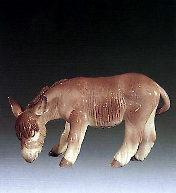 Donkey Eating Lladro Figurine