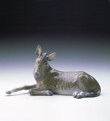 Donkey-white Lladro Figurine