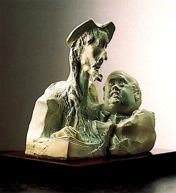 D.quijote Y Sancho Lladro Figurine