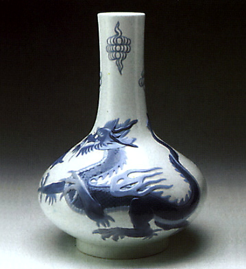 Dragon Jug Decorated Lladro Figurine