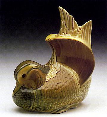 Dragon Tibor Jar Lladro Figurine