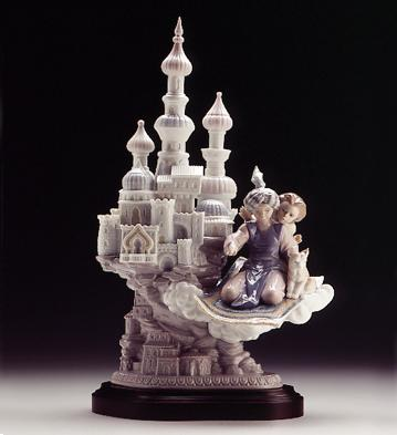 Dreams Of Aladdin (b) Lladro Figurine