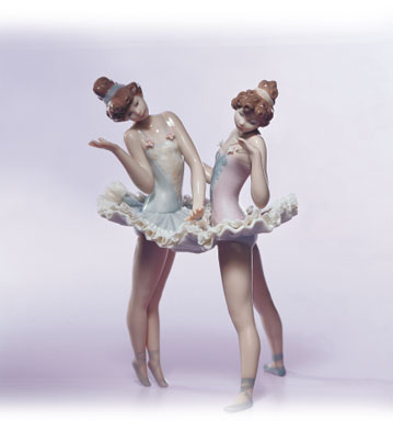 Dress Rehearsal Lladro Figurine
