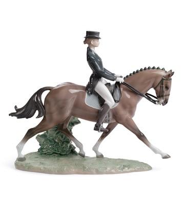 Dressage Lladro Figurine