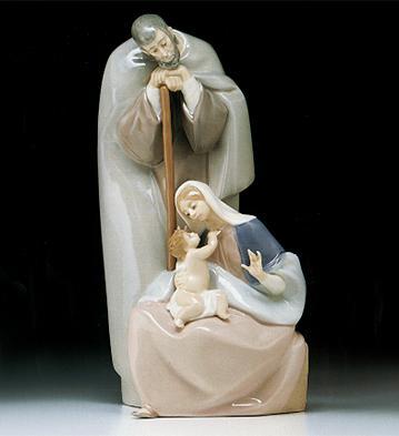 Dressed Family Lladro Figurine