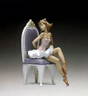 Dressing For The Ballet Lladro Figurine