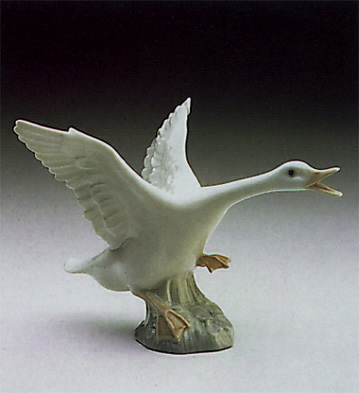 Duck Jumping Lladro Figurine