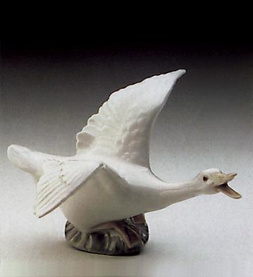 Duck Running Lladro Figurine