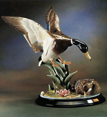 Ducks At The Pond (l.e.) Lladro Figurine