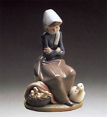Ducks Seller Lladro Figurine