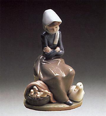 Ducks Seller Lladro Figurine