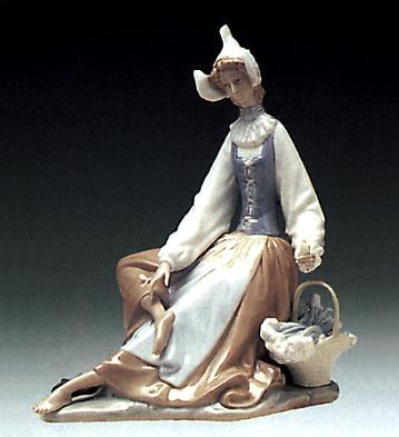 Dutch Girl Lladro Figurine
