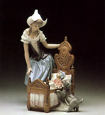 Dutch Mother Lladro Figurine