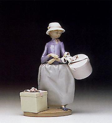 Easter Bonnets Lladro Figurine