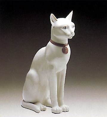 Egyptian Cat Lladro Figurine