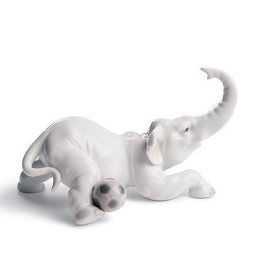 Elephant Goal Lladro Figurine