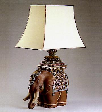 Elephant (lamp) Lladro Figurine