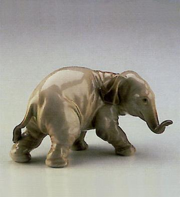 Elephant Lladro Figurine