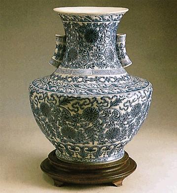 Empire Vase (l.e.) (b) Lladro Figurine
