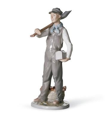 Engineer Lladro Figurine