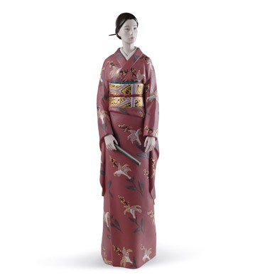 Enigmatic Beauty Lladro Figurine
