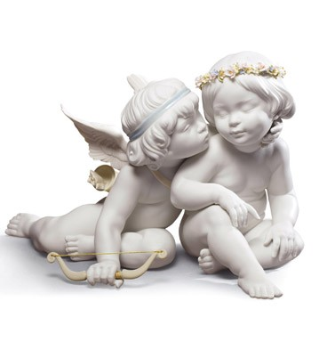 Eros And Psyche Lladro Figurine