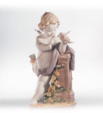 Eros Lladro Figurine