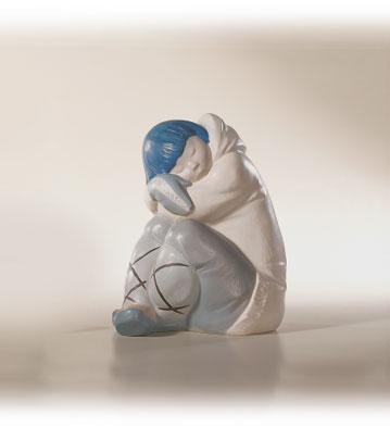 Eskimo Boy Lladro Figurine
