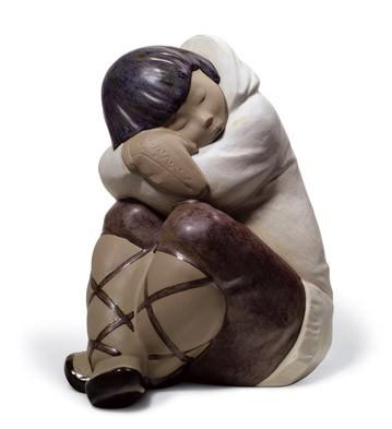 Eskimo Slumber (boy) Lladro Figurine