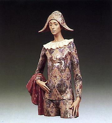 Estatic Harlequin Lladro Figurine
