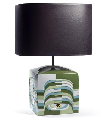 Estratos - Small Lamp -green (us) Lladro Figurine