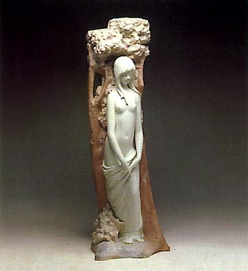 Eve At The Tree (l.e.) Lladro Figurine