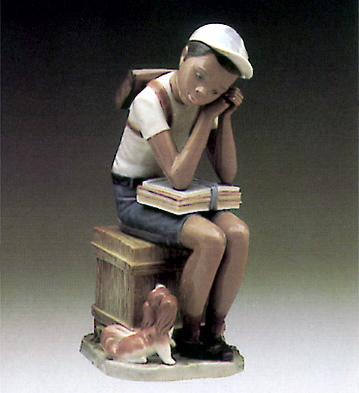 Exam Day Lladro Figurine
